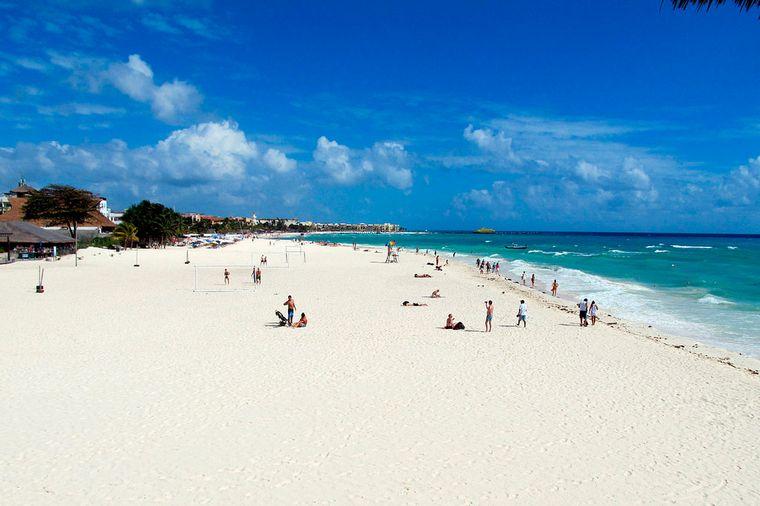 FOTO: Playa del Carmen, un paraíso mexicano.