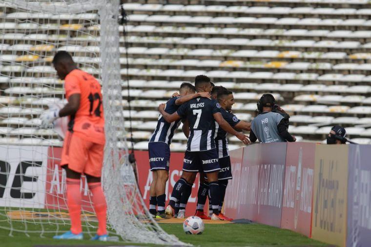 FOTO: Talleres debuta por la Copa Sudamericana en el Kempes.