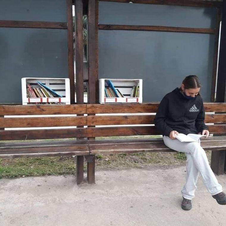 FOTO: Iniciativa por el Día del Libro en Villa Allende