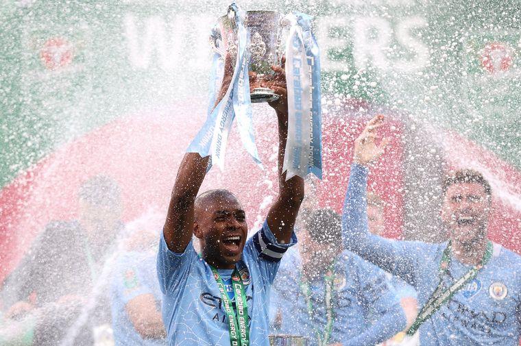 FOTO: El Manchester City es campeón tras vencer al Tottenham