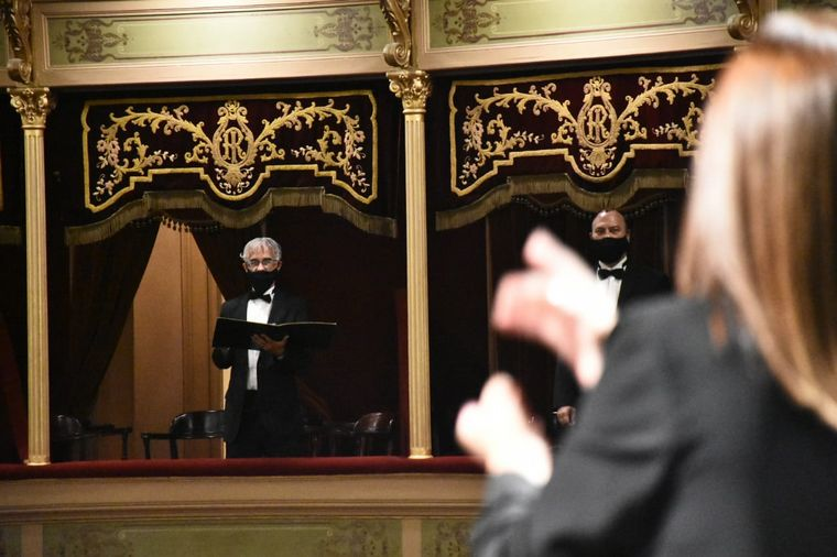 FOTO: Los festejos por los 130 años del Teatro del Libertador