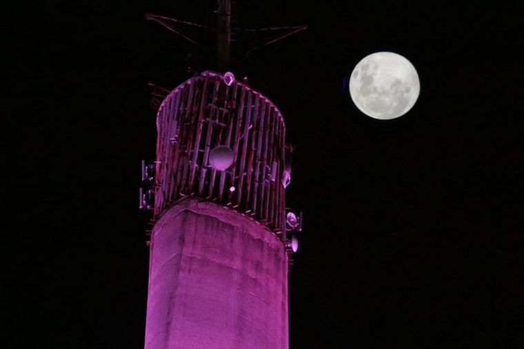 FOTO: Últimas imágenes de la Superluna: martes 7.55.