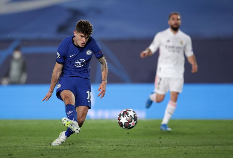 FOTO: Real Madrid y Chelsea igualaron 1-1 en la ida de las semifinales.