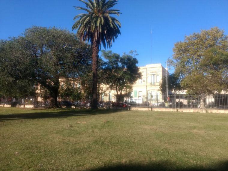 AUDIO: Comenzó la instalación del hospital de campaña en Santa Fe