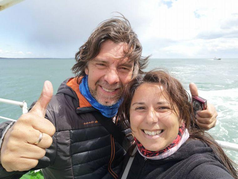 FOTO: Gloria y Richard viajan por América desde el 2019