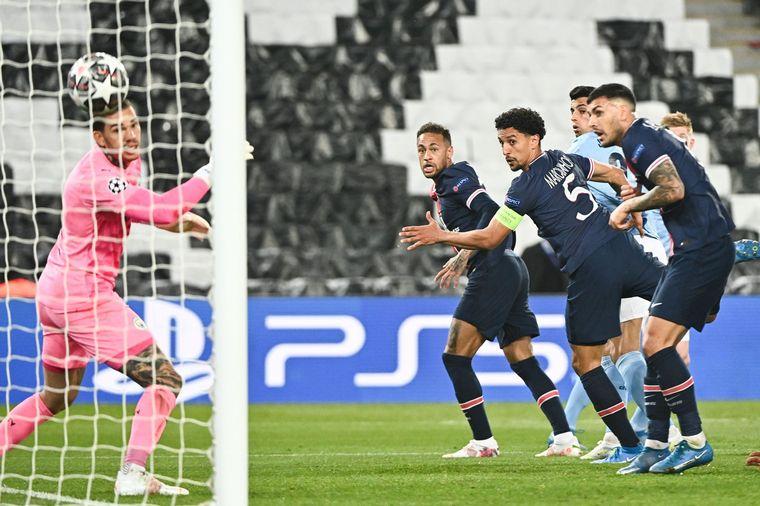 FOTO: El Manchester City se lo dio vuelta al PSG en Francia.