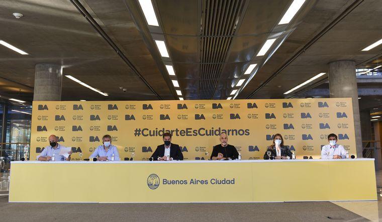 FOTO: Rodríguez Larreta agregó nuevas medidas para los comercios.