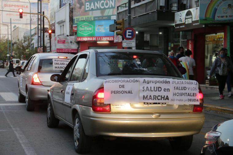 AUDIO: Trabajadores de la salud se movilizaron en Córdoba