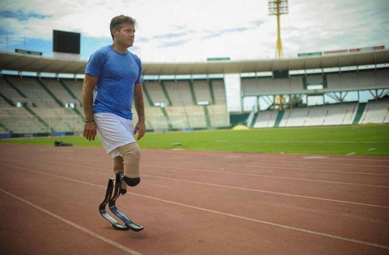 FOTO: Pablo Giesenow sufrió el robo de sus prótesis