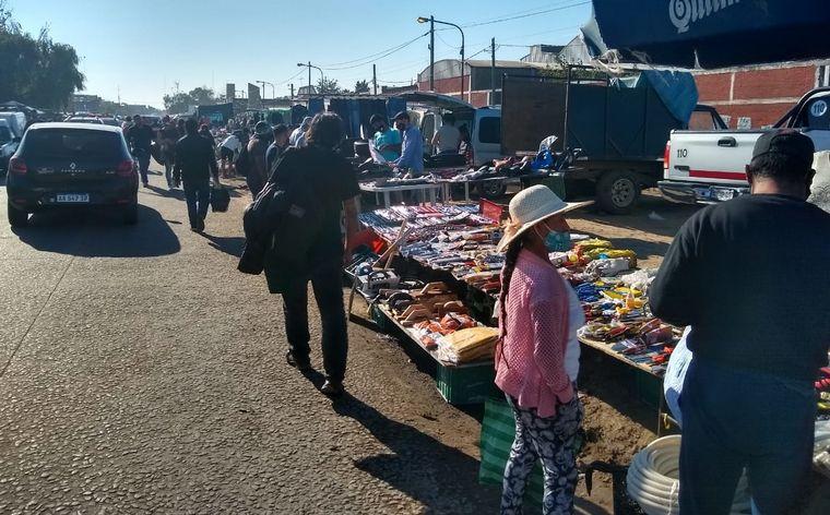 FOTO: Aglomeraciones en las ferias de provincia de Buenos Aires