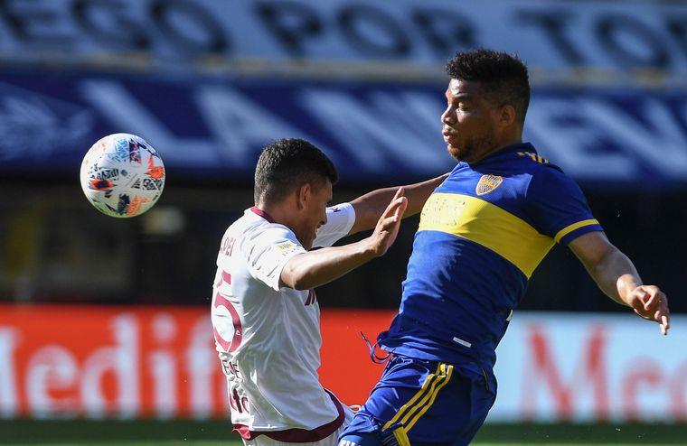 FOTO: Boca recibe a Lanús por la fecha 12.