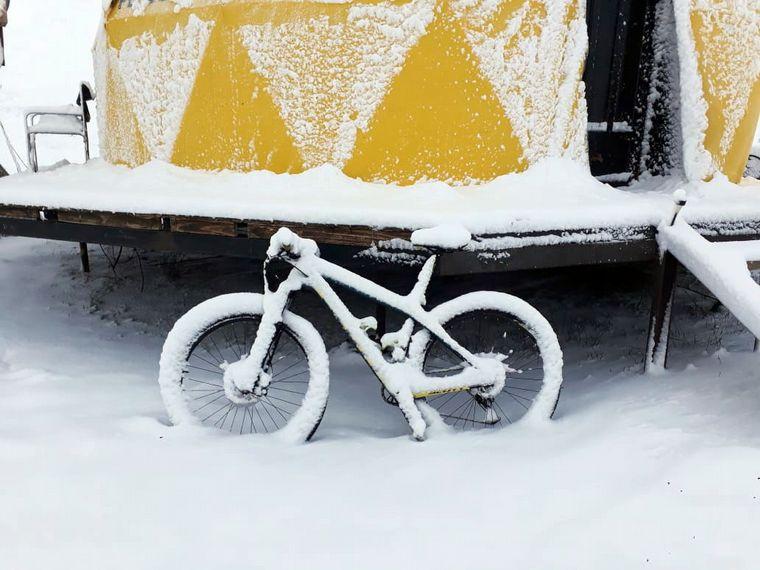 AUDIO: Mendoza, cubierta de blanco, se prepara para la temporada