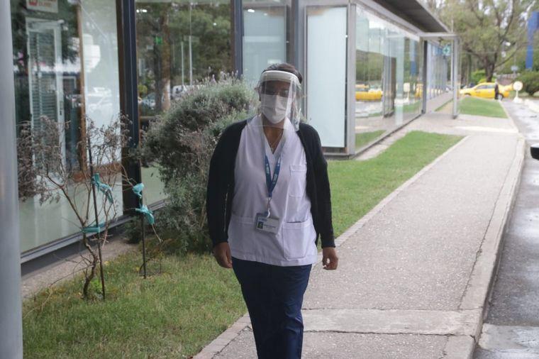 VIDEO: Héroes de la pandemia: Hoy, Rosario Rimari, enfermera del Hospital Privado.