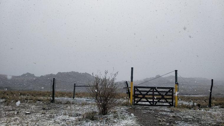 AUDIO: Nieva en el Cerro Negro y en las Altas Cumbres de Córdoba