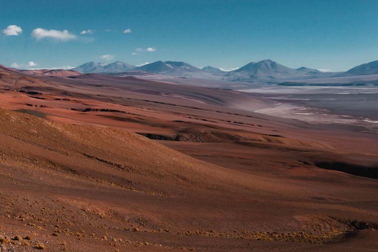 FOTO: Salinas Grandes, en Salta.
