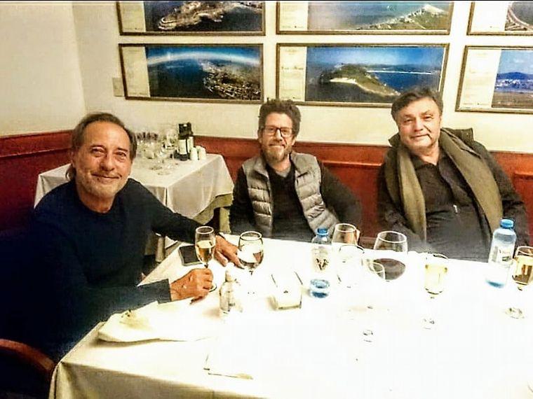 """AUDIO: Francella y el equipo de """"Granizo"""" cenaron en El Celta"""