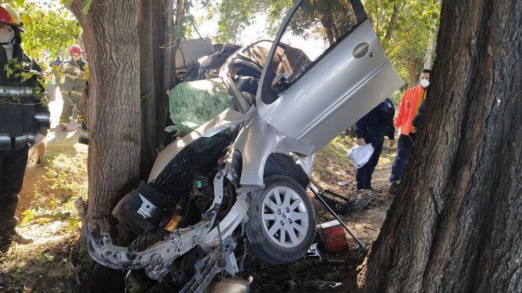 FOTO: Se dio entre dos vehículos en la A74.