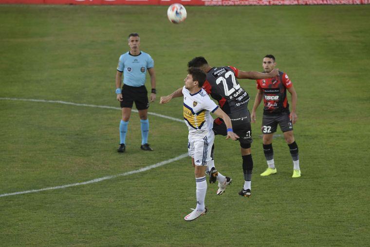AUDIO: 1º Gol de Patronato a Boca (Torres)