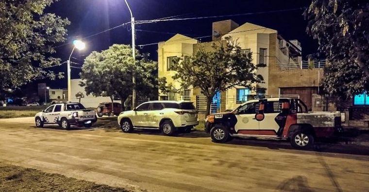 FOTO: Joaquín Magliano fue detenido en Jesús María y trasladado a Santiago del Estero