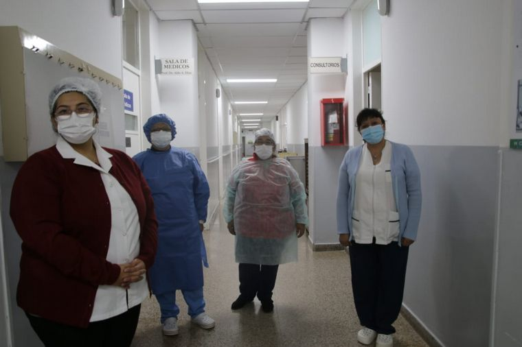 FOTO: Sandra Rojas, enfermera del Hospital Clínicas