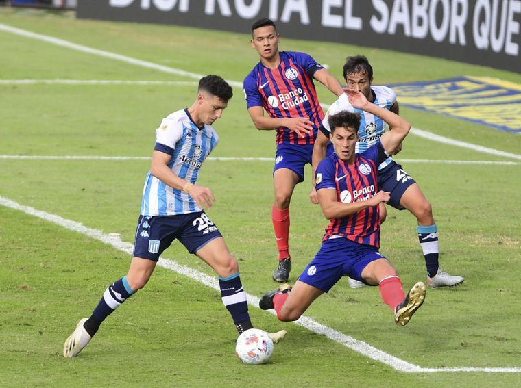 AUDIO: 1º Gol de Racing a San Lorenzo (Chancalay)