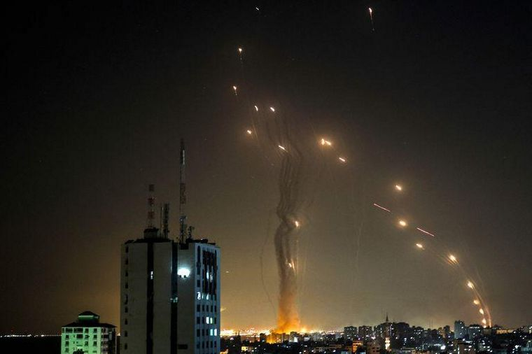 FOTO: Crece la tensión en Medio Oriente por ataques de Hamas e Israel.