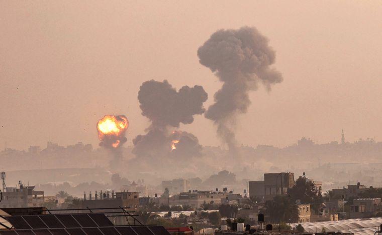 FOTO: Se repiten los bombardeos de un lado a otro y temen una guerra a gran escala.
