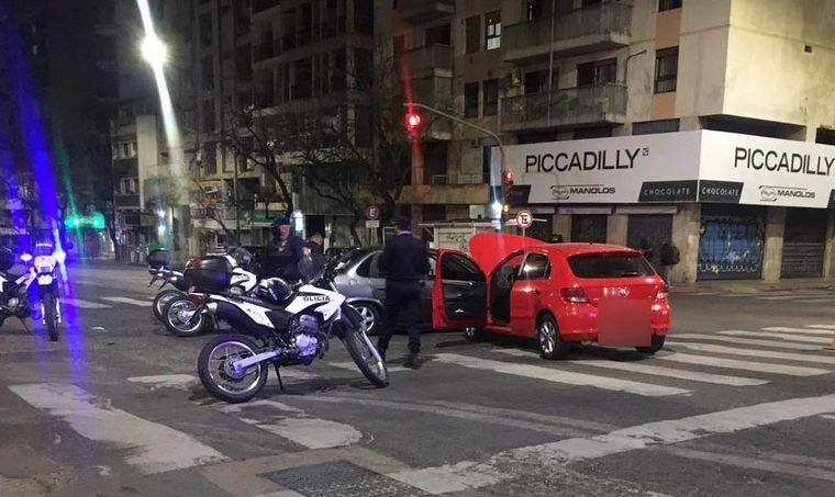 AUDIO: Una persecución cinematográfica terminó en choque en pleno centro de Córdoba
