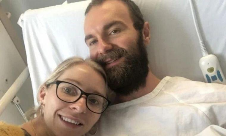 FOTO: Murió antes de conocer a su hija y le dejó una emotiva carta