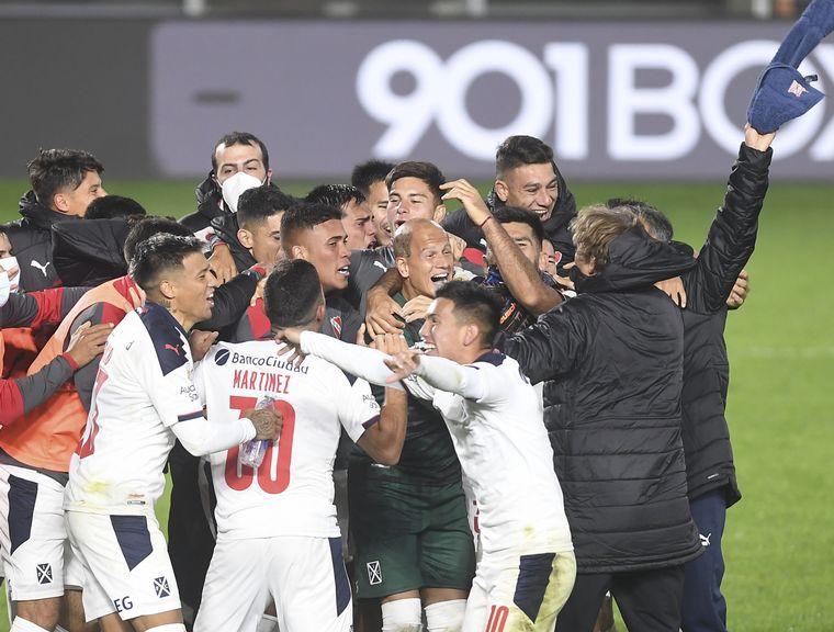 AUDIO: El penal que le otorgó a Independiente su clasificación a las semifinales