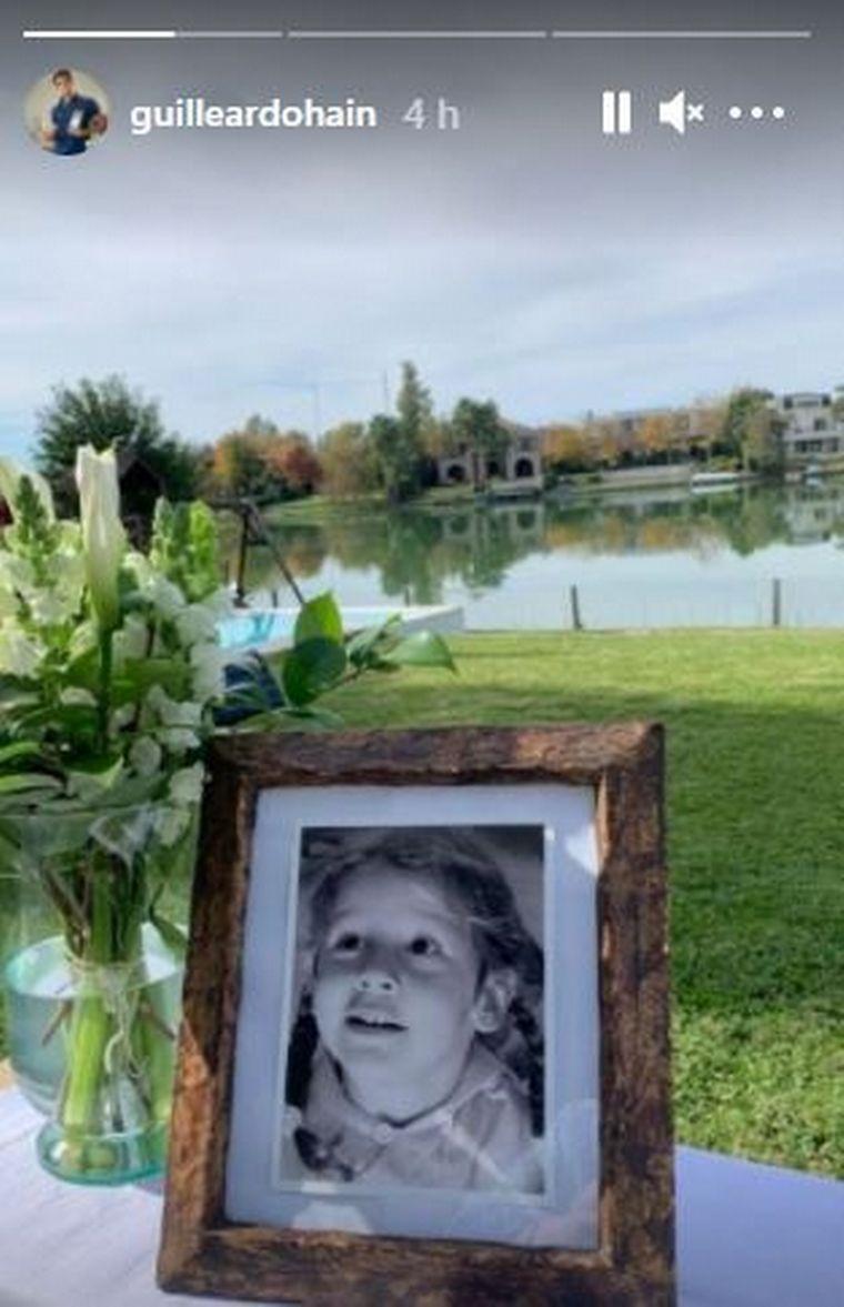 FOTO: Pampita y Vicuña recordaron a su hija Blanca
