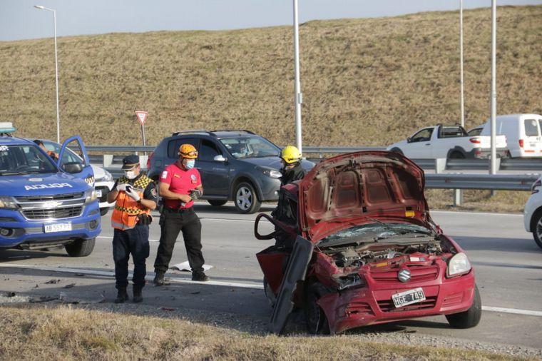 FOTO: Dos muertos tras un choque triple en Circunvalación.