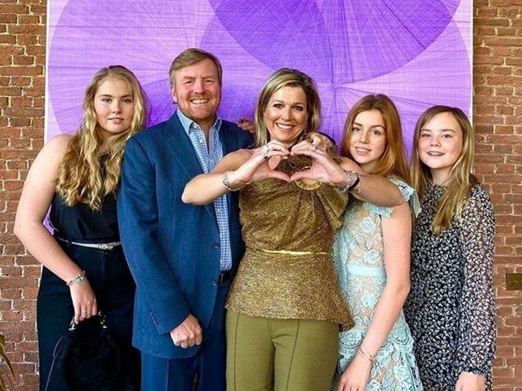 FOTO: La reina de los Países Bajos, Máxima Zorreguieta, cumple 50 años