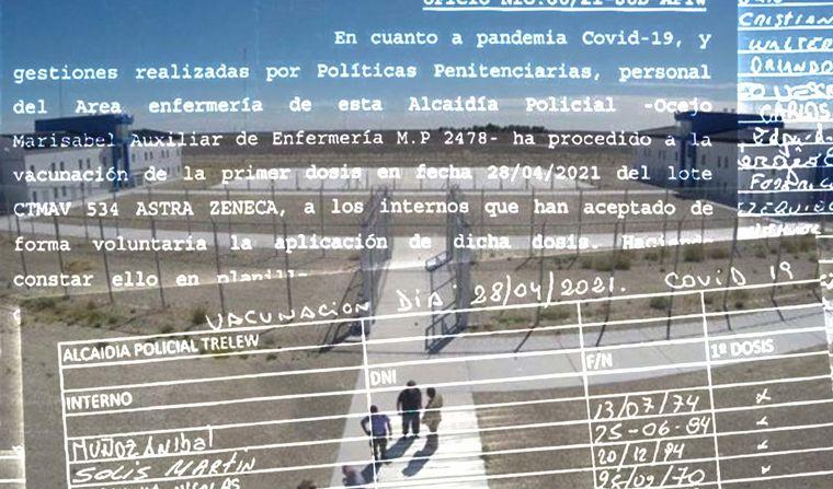 AUDIO: Escándalo por presos vacunados VIP en Chubut