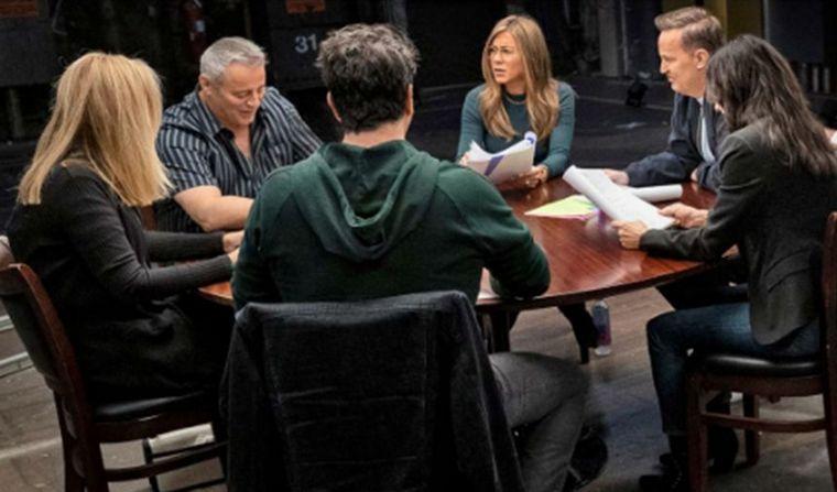 FOTO: El reencuentro no guionado se emitirá el 27 de mayo por HBO Max.
