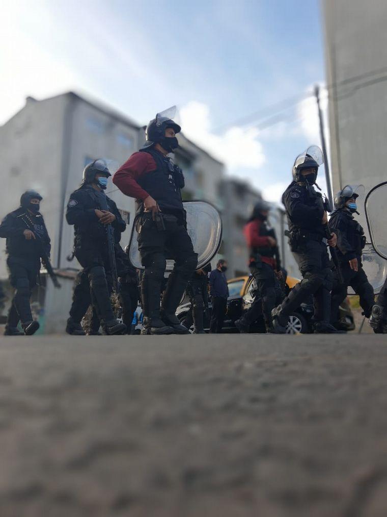 FOTO: Detuvieron a cuatro sospechosos de narcotráfico en Lugano