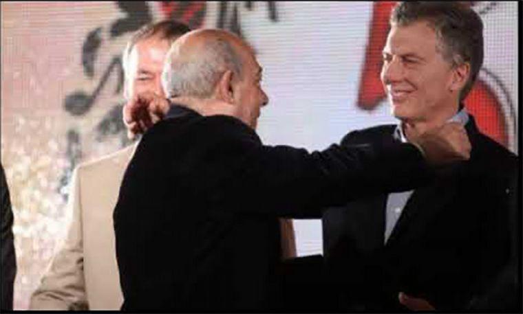 FOTO: Mauricio Macri recordó a Mario Pereyra.