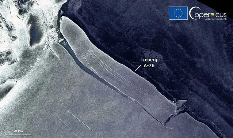 FOTO: Es más grande que la isla de  Mallorca en España