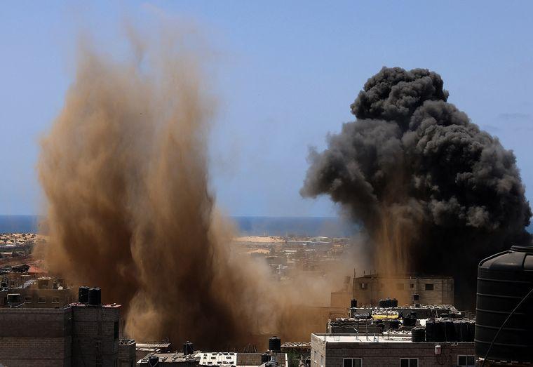 FOTO: Acuerdo entre Israel y Hamas
