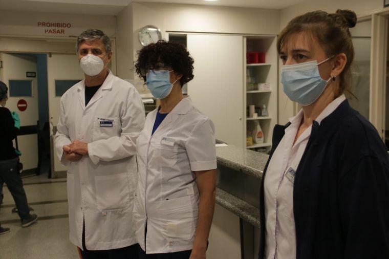 """FOTO: """"Rulo"""", la enfermera artista que busca destapar sonrisas"""