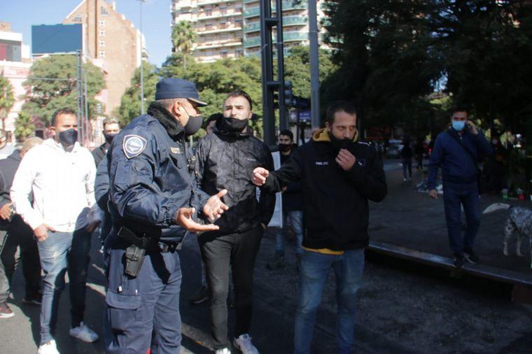 AUDIO: Corte total en las avenidas que confluyen en Patio Olmos