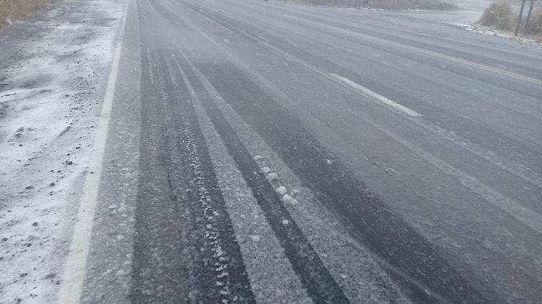 AUDIO: Nieva en las Altas Cumbres y evalúan cerrar la ruta