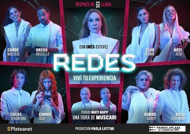 "AUDIO: Inés Estévez, protagonista de ""Redes, viví tu experiencia"""