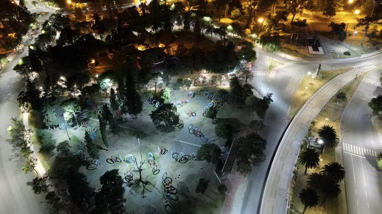 FOTO: Las calles de la capital cordobesa, vacías por la nueva cuarentena.