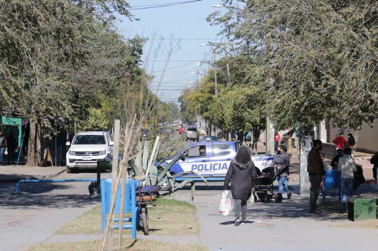 FOTO: Intensifican los controles en Villa El Libertador
