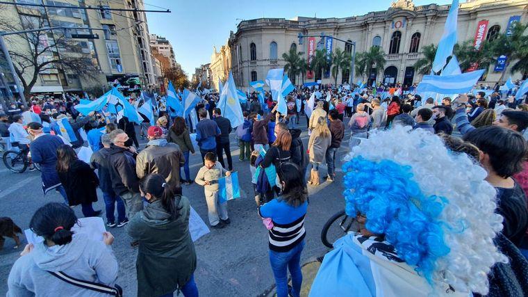 FOTO: Protestas en Córdoba contra el Gobierno nacional