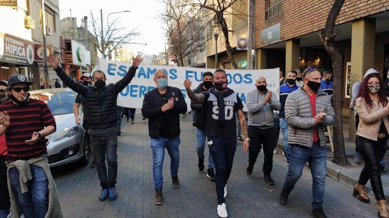 AUDIO: Comerciantes de Córdoba reclamaron contra el cierre total