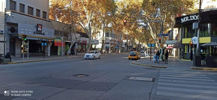 FOTO: Panorama desolador en el centro de Mendoza