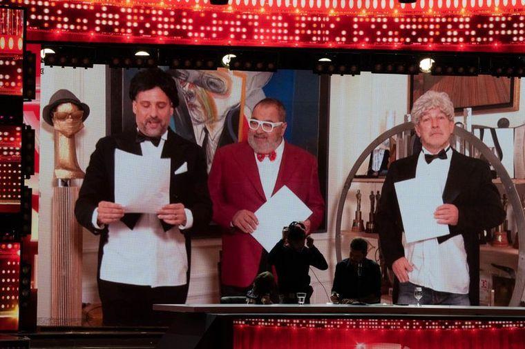 FOTO: ShowMatch volvió a sus clásicos sketchs en los viernes de humor