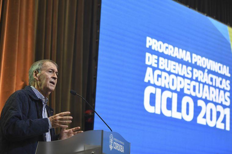 FOTO: Schiaretti lanzó la quinta edición del programa de BPAs